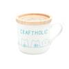 craftholic mug cup with wood lid GREEN