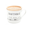 craftholic mug cup with wood lid MULTI