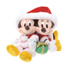 DISNEY Mickey & Minnie Stuffed Plush -Mickey's Noel-