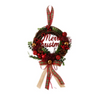 Francfranc Christmas Wreath M -Red-