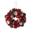 Francfranc Christmas Wreath M -Rose-