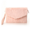 Honeys fur clutch bag