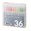 KURETAKE ZIG Clean Color Real Brush Pen Set 36color RB-6000AT/36V