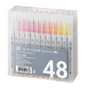 KURETAKE ZIG Clean Color Real Brush Pen Set 48color RB-6000AT/48V