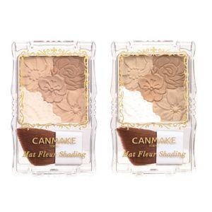CANMAKE TOKYO Matte Fleur Shading Contour Palette [2 colors]