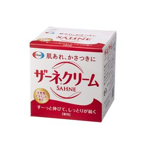 Eisai SAHNE Cream 100g medicated moisturizing cream with natural forms vitamin E