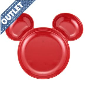 OUTLET Francfranc Disney Mickey Plate & Spoon & Fork Set