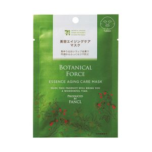 BOTANICAL FORCE BY FANCL Essence Aging Care Mask 18ml x 1 sheet