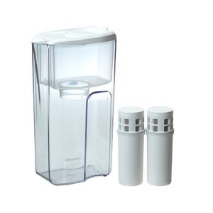 MITSUBISHI RAYON Cleansui Water Filter Pitcher Value Set CP405-WT Plus Cartridge CPC5 x 2 pieces