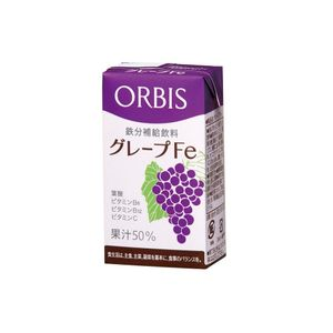 ORBIS Grape Fe 125ml x 10 packs