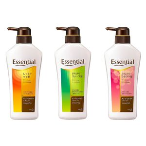 KAO Essential Cuticle Care Shampoo 480ml 3 types