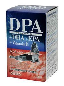 ORIHIRO DPA + DHA + EPA + VitaminE 120 capsules