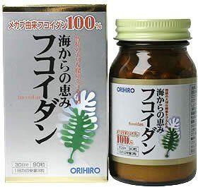 ORIHIRO Fucoidan 90 capsules