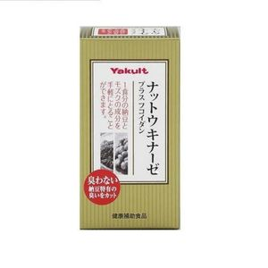 YAKULT Nattokinase + Fucoidan 150 Tablets