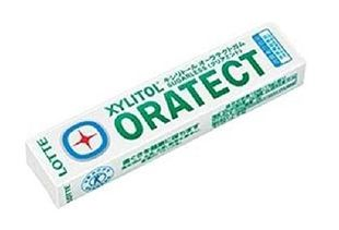 LOTTE XYLITOL ORATECT Gum Clear Mint 21g x 20 boxes