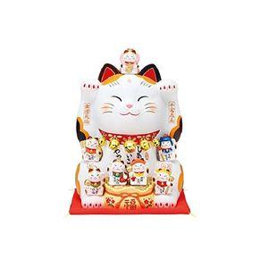 Yakushigama Lucky Cat 7 Lucky Gods 7576 25.5cm