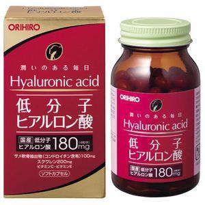 ORIHIRO Low Molecular Hyaluronic Acid 120 Capsules