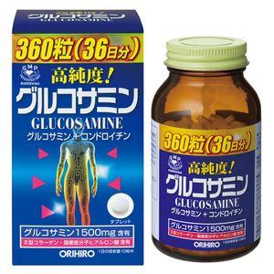 ORIHIRO High-Purity Glucosamine 360 Tablets