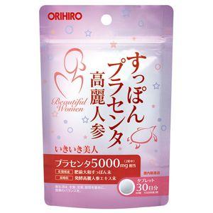 ORIHIRO Soft-Shelled Turtle Placenta Asian Ginseng 18.9g