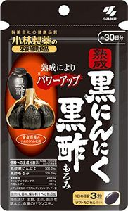 KOBAYASHI Aged Black Garlic Black Vinegar Mash 90 capsules