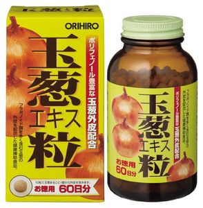 ORIHIRO Onion Extract Tablet 600 tablets