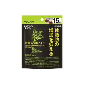 ASAHI Slim Up Slim Licorice gravonoid for 15 days