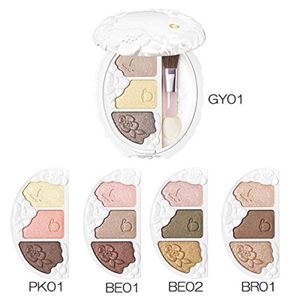 SHISEIDO Benefique Theoty Eye Color Palette (Aurora Pearl) 5 Shades
