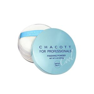 CHACOTT Finishing UV Powder SPF20 PA++ 15g with puff