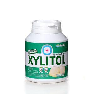 LOTTE XYLITOL Gum Bottle Type Apple Mint 90 tablets