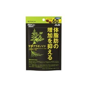 ASAHI Slim Up Slim Licorice gravonoid for 60 days