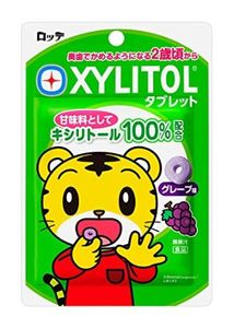 LOTTE XYLITOL Tablet Grape 30g x 10 bags