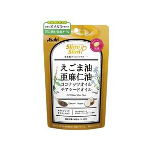 ASAHI Slim Up Slim 4 kinds of vegetable oil capsule 90 capsules