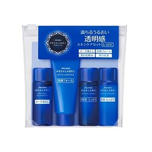 SHISEIDO AQUALABEL White Up Set N