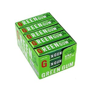 LOTTE GREEN GUM 9 sheets x 15 pieces