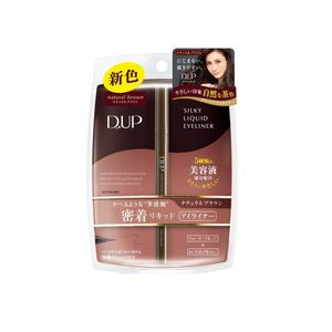 D-UP Silky Liquid Eyeliner WP Natural Warm Brown