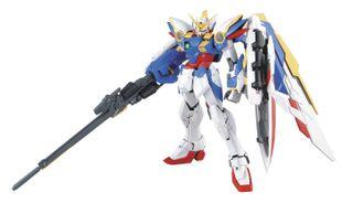 BANDAI MG 1/100 XXXG-01W Wing Gundam EW Ver. Gundam Model Kits