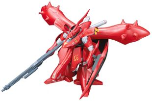 BANDAI RE/100 1/100 MSN-04 II Nightingale Chars Counterattack Model Kit