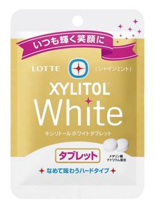 LOTTE XYLITOL White Tablet Shine Mint 22g x 10 bags