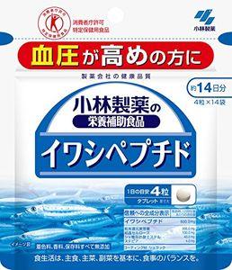 KOBAYASHI Sardine Peptide 4 tablets*14 bags