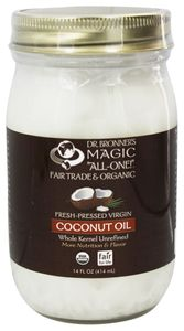 Dr. Bronner Organic Virgin Coconut oil 414ml