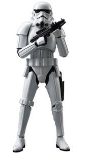 BANDAI STAR WARS Stormtrooper 1/12 Scale Plastic Model