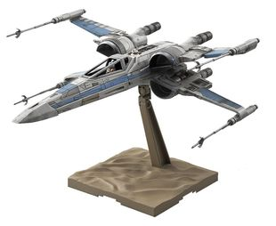 BANDAI STAR WARS 1/72 X-WING FIGHTER RESISTANCE+BB-8+Pilot The Force Awakens