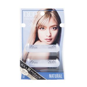 D-UP Eyelash ROLA Collection 02 Natural 2 pairs