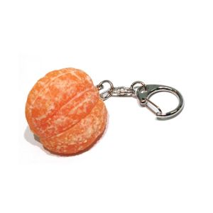 Food Sample Key Holder Orange 003TK