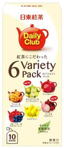 NITTO KOUCHA Nittoh Tea 6 Variety pack 10 packs x 6 packs