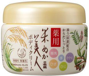 Komenuka Bijin Natural Skin Care Body Cream 140g