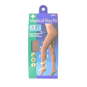 TRAIN Medical-Stay Fit Panty Stocking 70den 3 colors