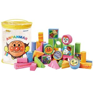 Agatsuma Anpanman Light Safe Building Block S