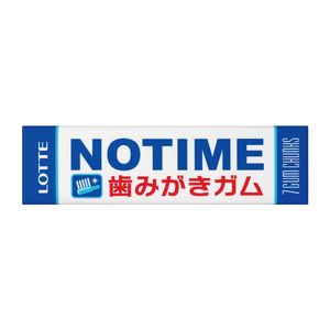LOTTE NOTIME Gum 7 x 15 pieces