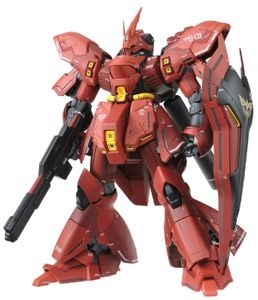 BANDAI MG 1/100 MSN-04 Sazabi Ver.Ka Bandai Gundam Plastic Model